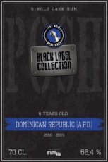 Rum Domenican Republic AFD Black Label Collection, 70 cl - 62,4°