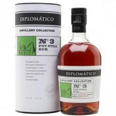 Diplomatico Distillery Collection n°3 - Pot Still, 70 cl - 47°