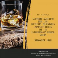 SAWH_004 Knappogue Castle 14YO 2000-2014 Bushmills, 3 cl - 46°