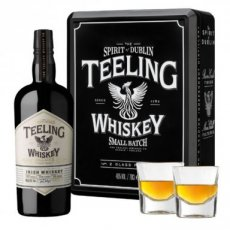 Teeling Small Batch Rum Finish Gift Set with 2 Glasses, 70 cl - 46°