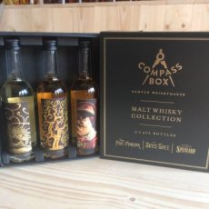 Whisky Compass Box Malt Collection Giftset 3 x 5 cl, 15 cl - 45°